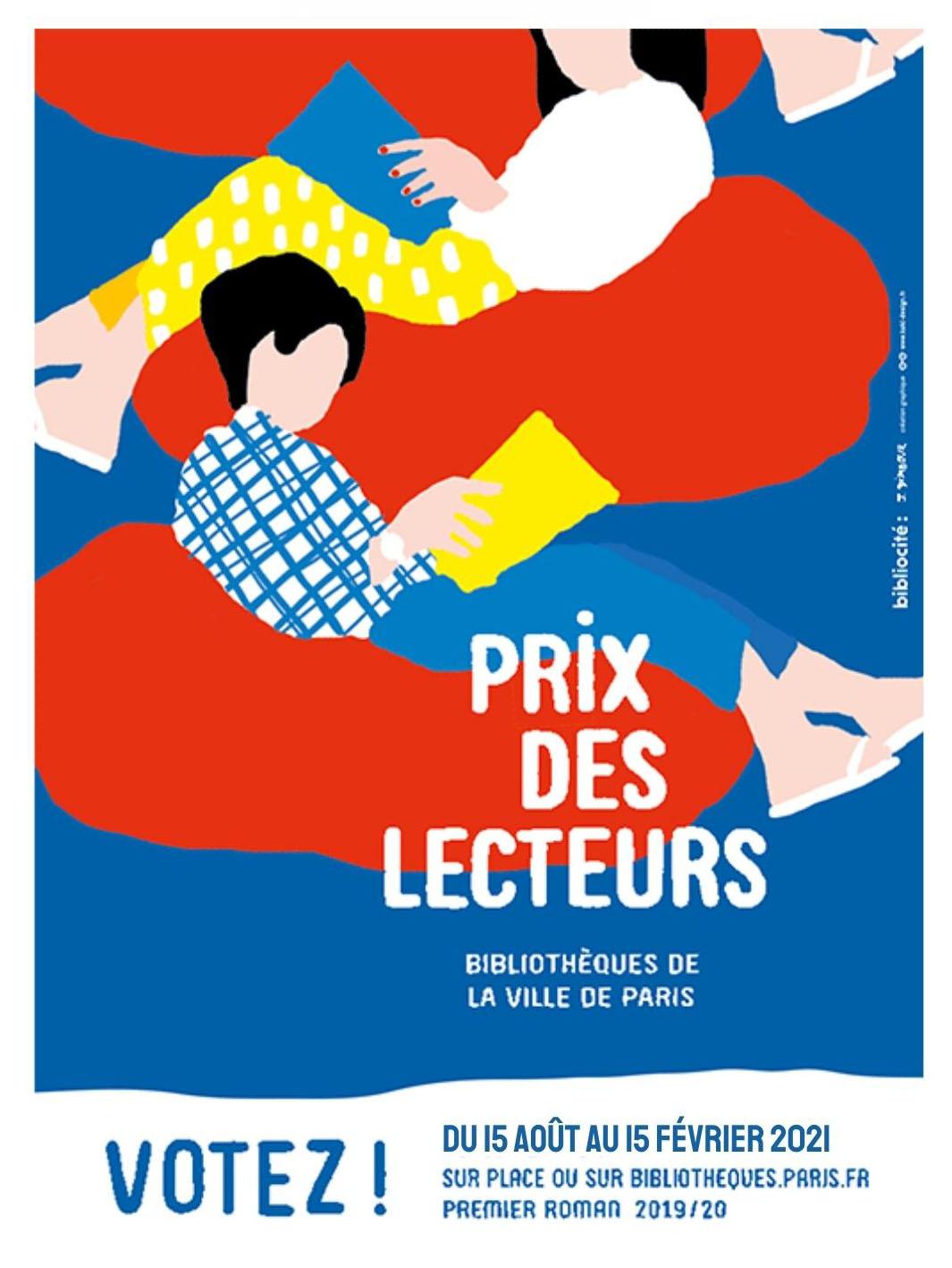 Prix des lecteurs bibliothèques ville de Paris
