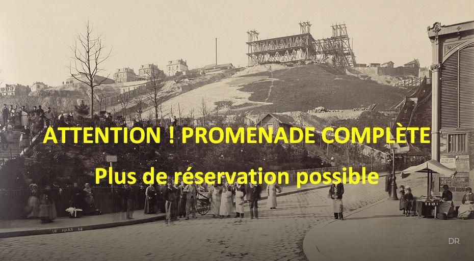 La Commune dans le XVIIIe arrondissement : visite guidée  