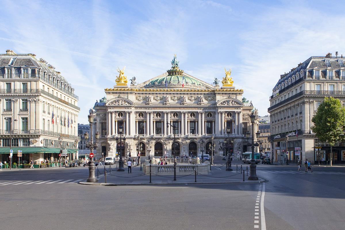 Le Palais Garnier.