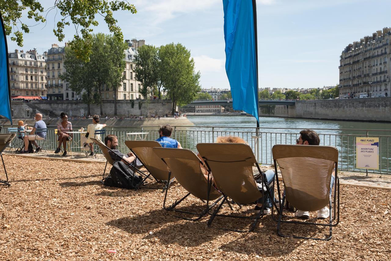 Paris Plages 2020 Rives de Seine