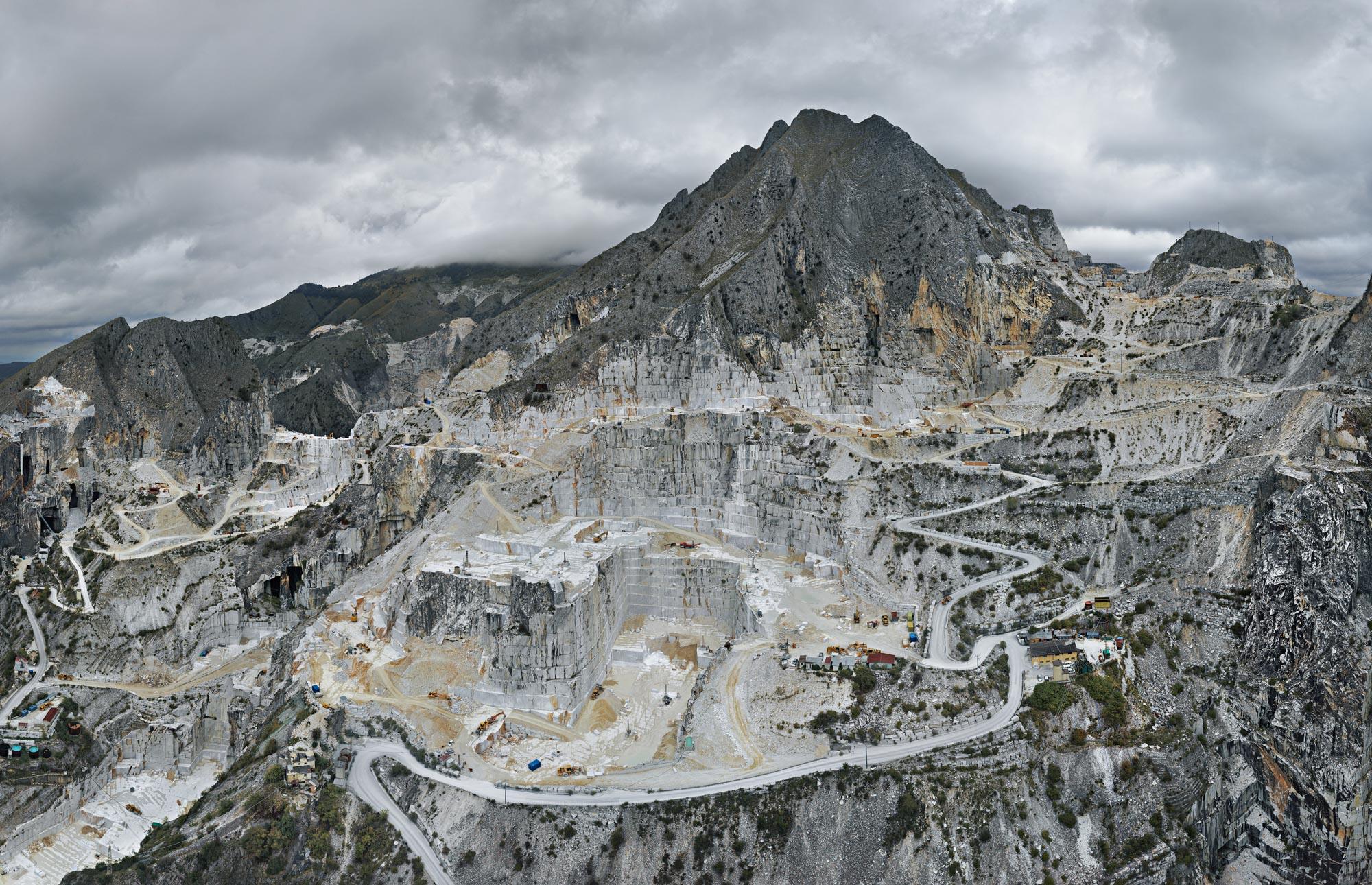 Carrara Marble Quarries, Carbonera Quarry #1, Carrara, Italy, 2016