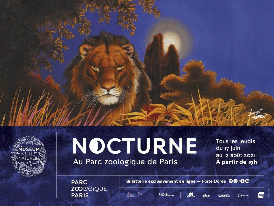 Nocturnes Parc zoologique de Paris