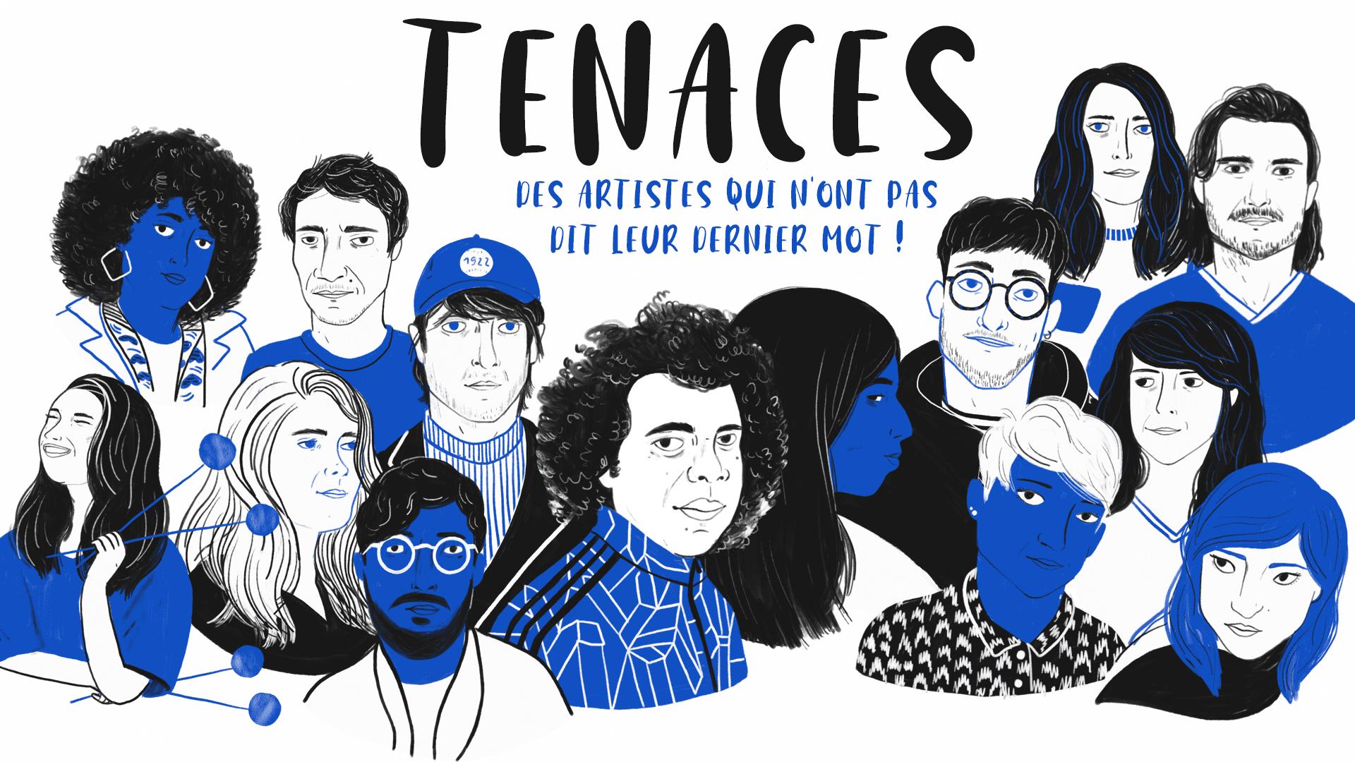 Illustration des artistes TENACES