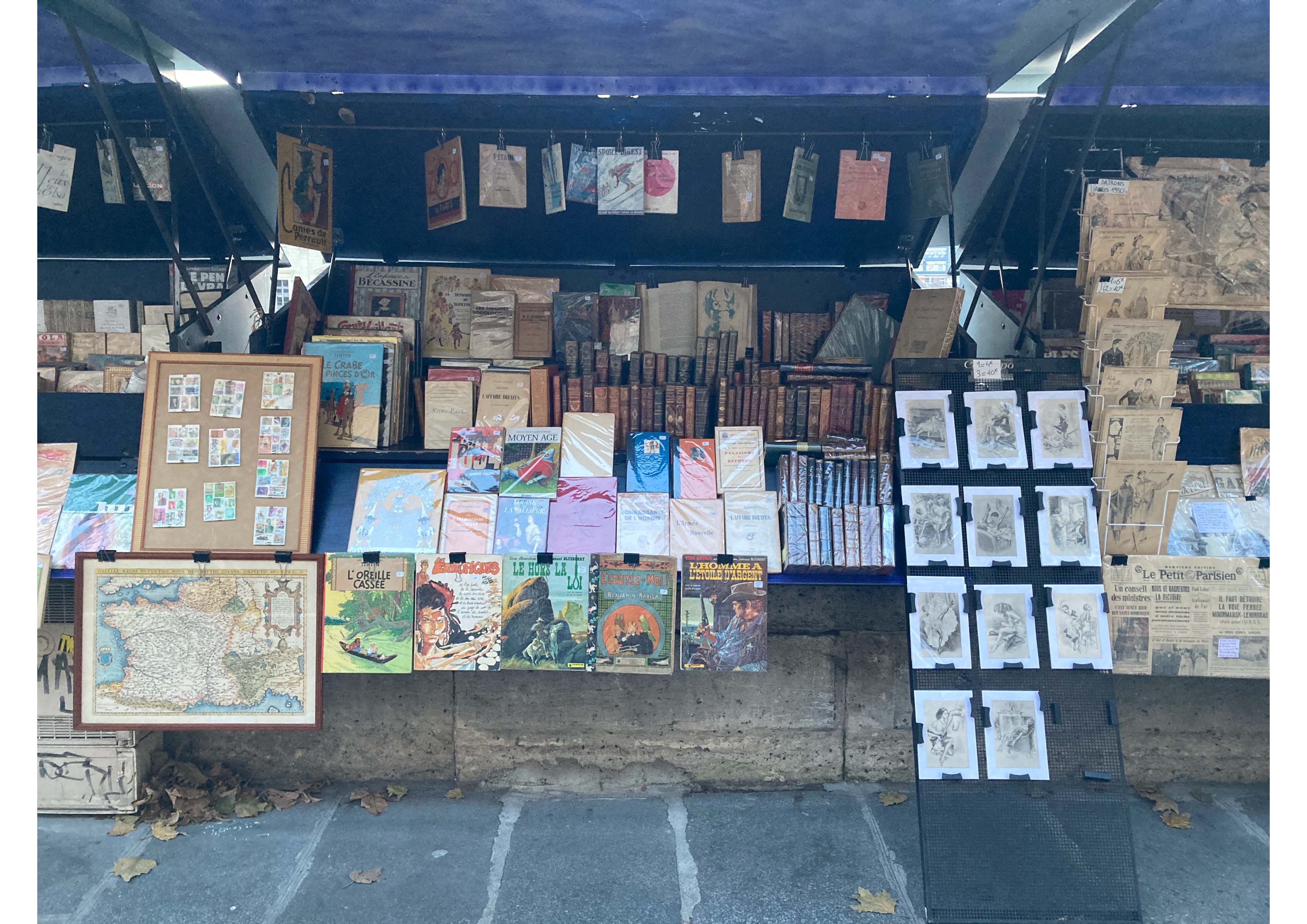 stand bouquiniste