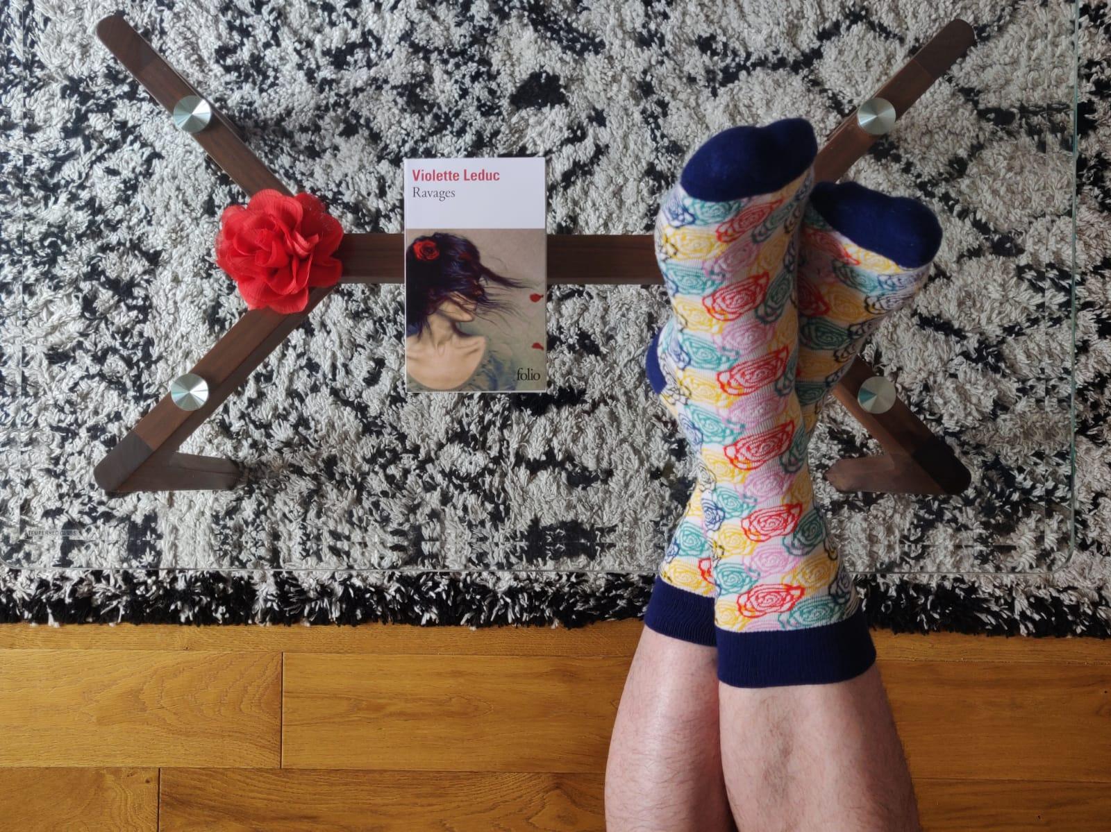 Booksocks, des livres et des chaussettes  