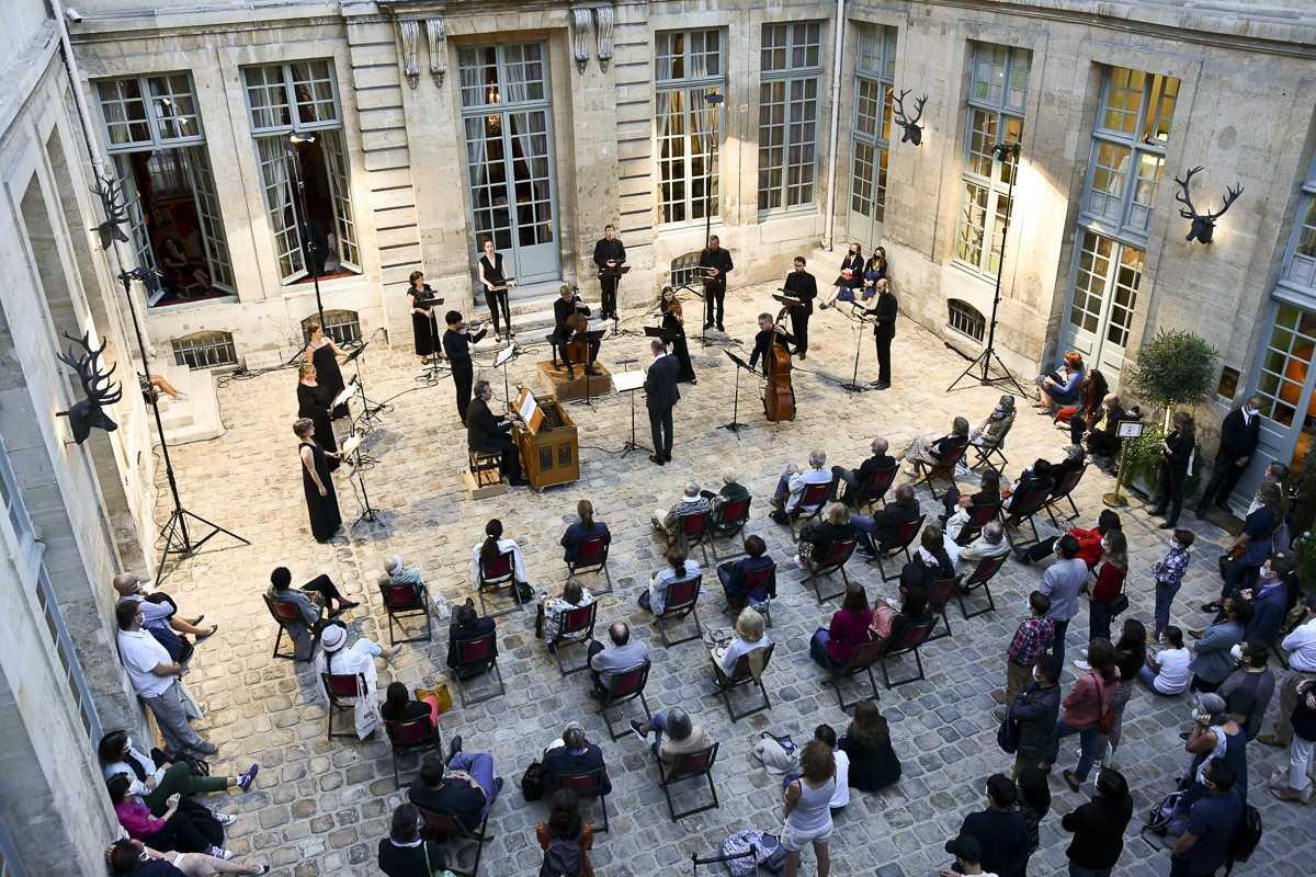 Nom du spectacle : Sacré Saint-Saëns ! Compagnie : Le Concert Spirituel