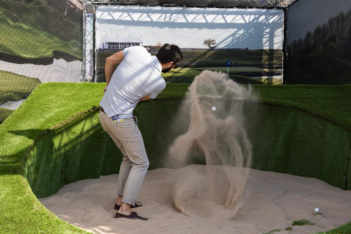 Village d'initiation au golf à l' occasion de la Ryder Cup