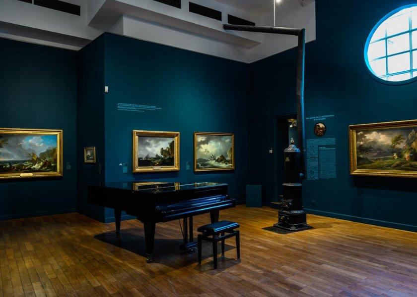 """Exposition """"Tempêtes et naufrages"""" au musée de la Vie romantique © Fabrice Gaboriau"""