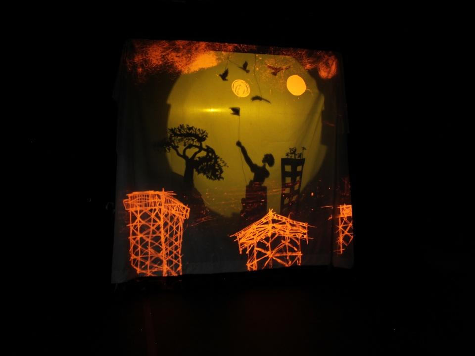 image du théâtre d'ombre TARAKEEB