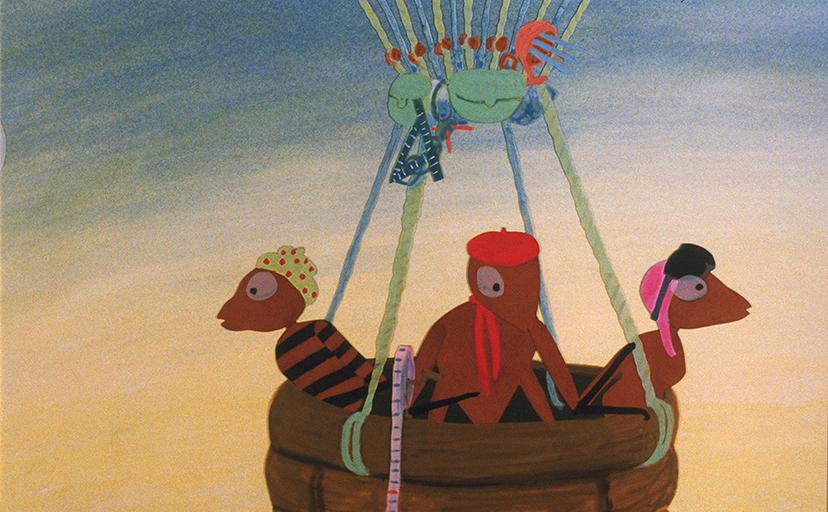 """""""Le Voyage en ballon"""""""
