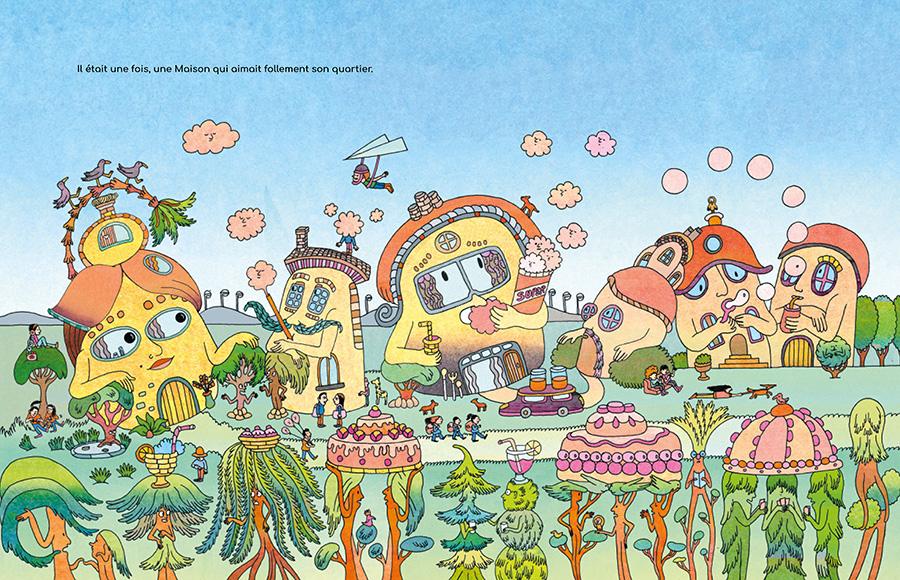 Atelier dessin-papiers découpés animé par Jeanne Macaigne |