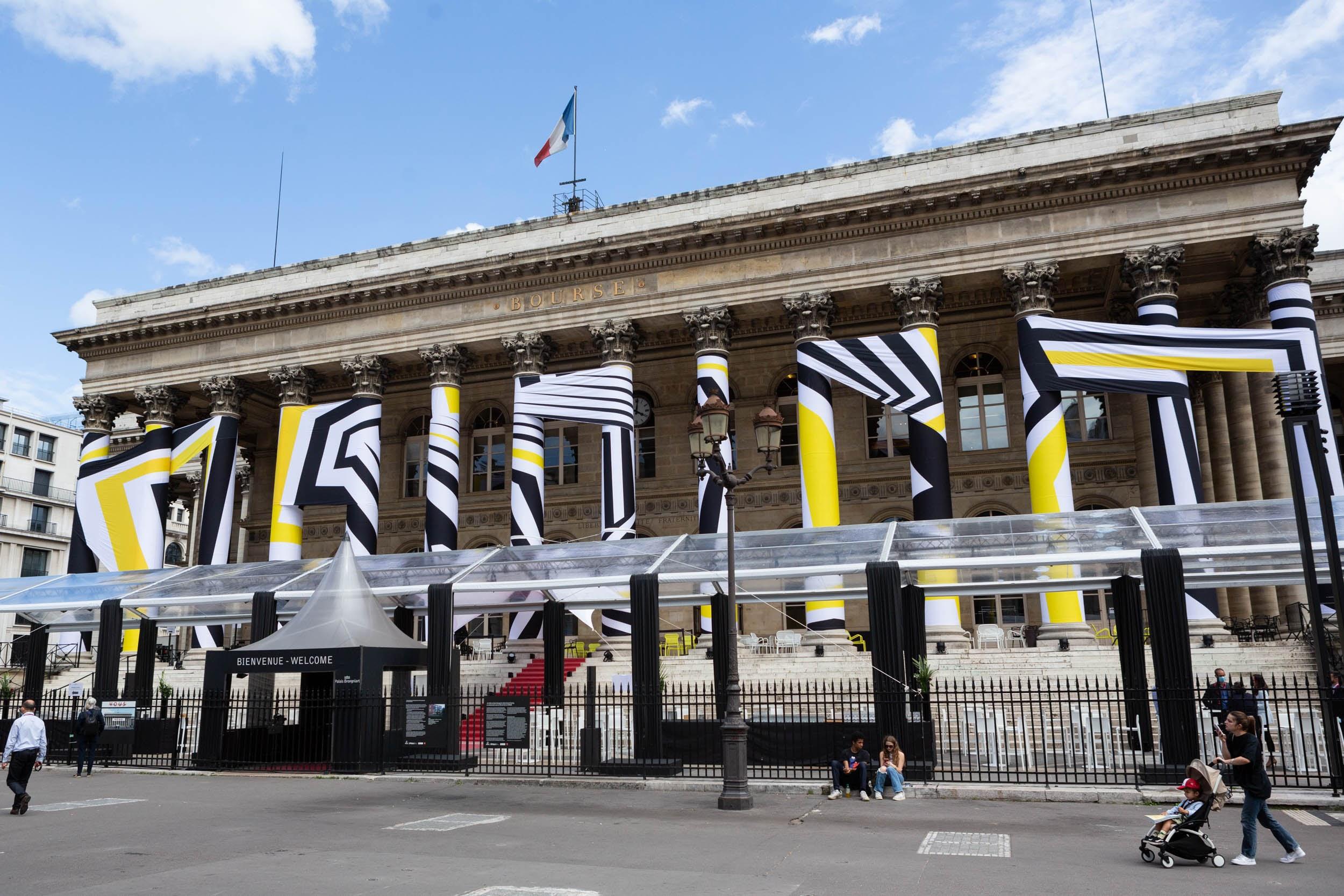 L'EPSAA Emballe le Palais Brongniart