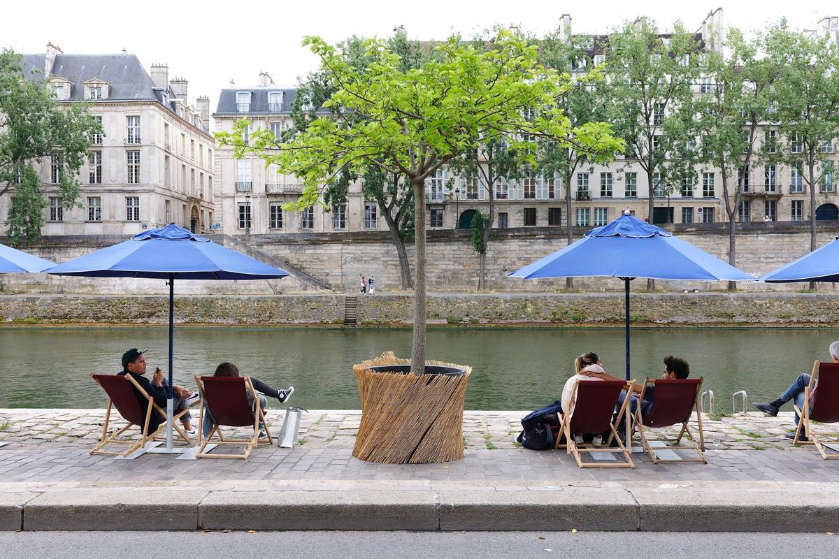 Paris Plages 2021.