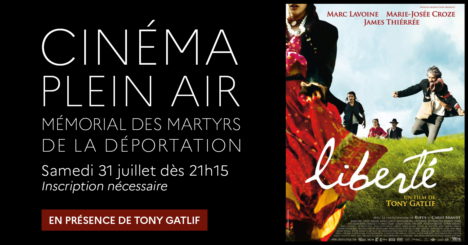 """Liberté"" de Tony Gatlif [Cinéma plein air]"