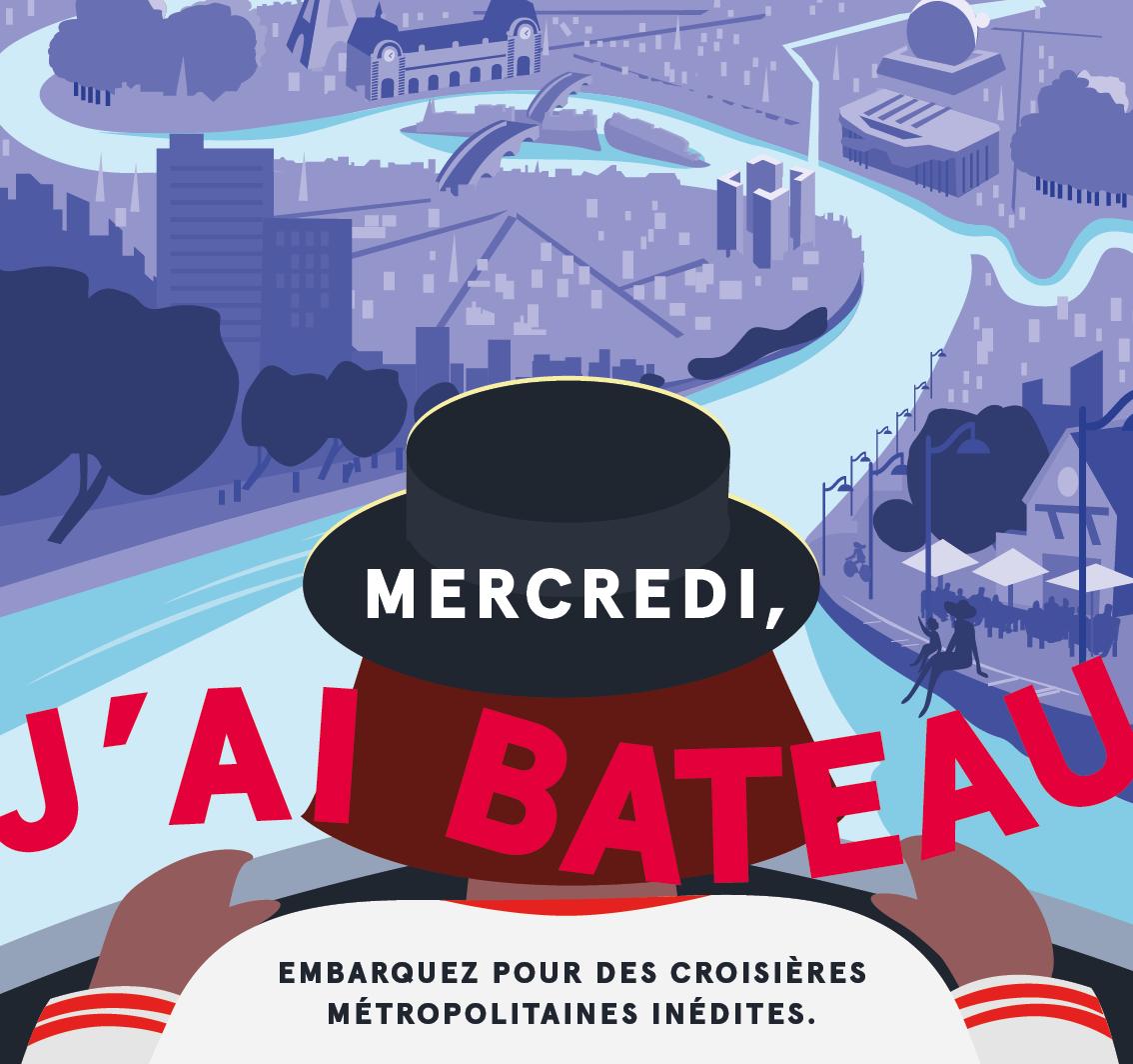 Découvrez le Grand Paris au fil de l'eau