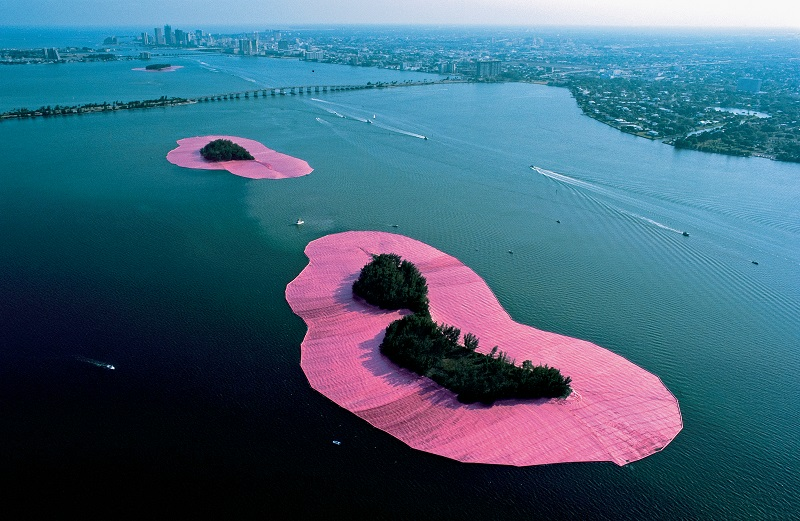 Surrounded Islands, Biscayne Bay, Grand Miami, Floride, 1980-83