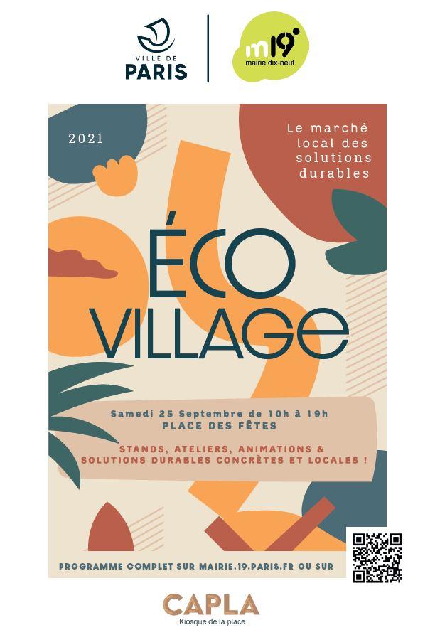 eco village affiche