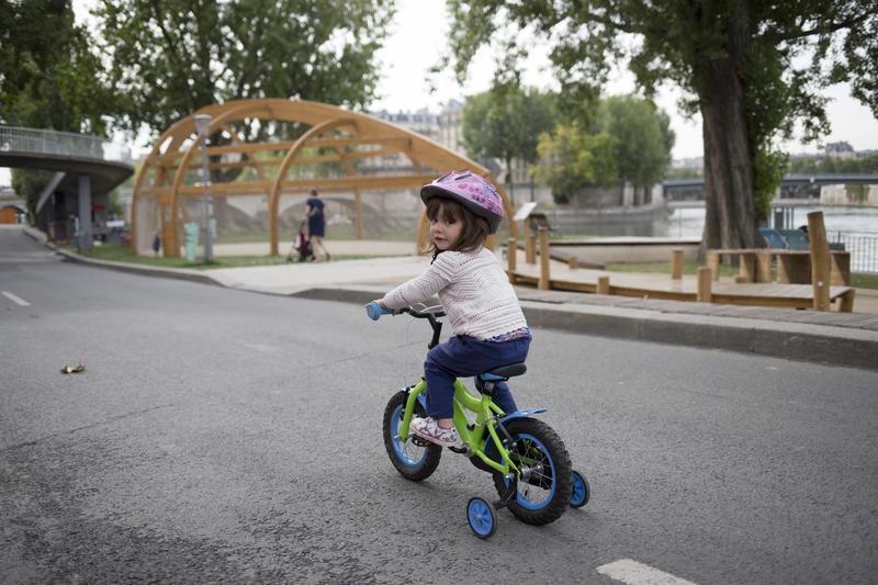 Vélos sur les Berges de seine
