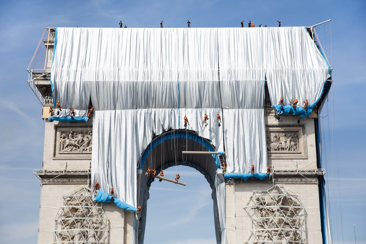 Empaquetage Arc de Triomphe