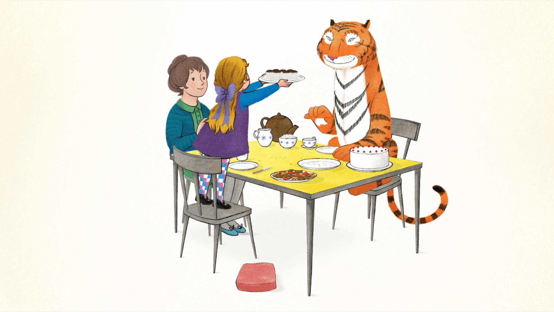 """""""Le Tigre qui s'invita pour le thé"""""""