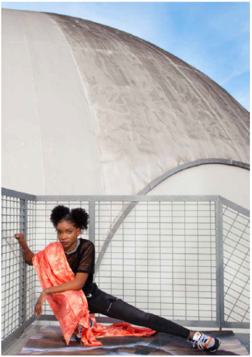 Oeuvre deMelika Shafahi, intitulée Salia, de la série Rapproche, 2018-2019, une photographie.