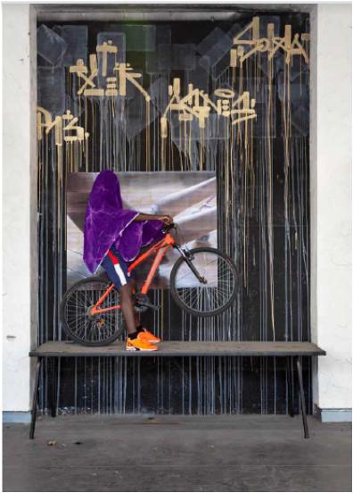 Oeuvre de Melika Shafahi intitulée Ely de la série Rapproche, 2018-2019, photographie.