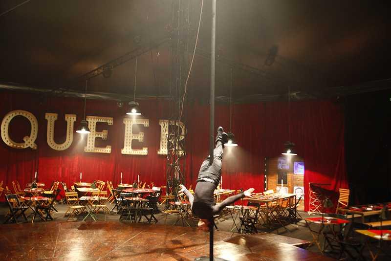 Raul s'entraine, Cirque Electrique