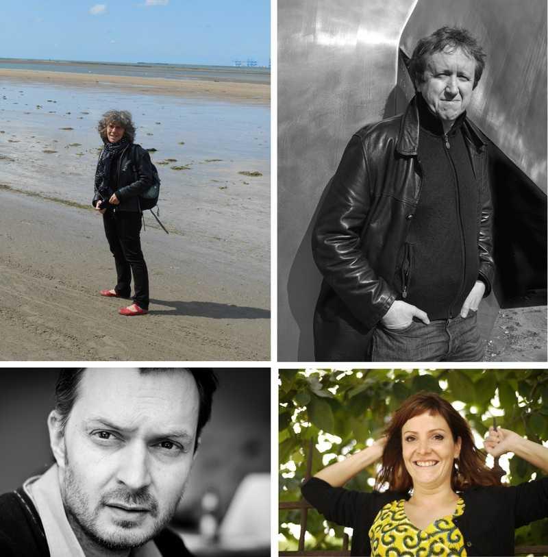Michèle Audin, Ian Monk, Frédérique Forte, Jeanne Carillon