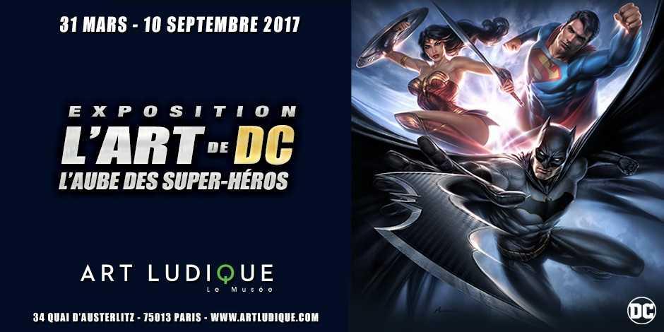 L'art de DC, l'aube des super-héros Art ludique - Le Musée