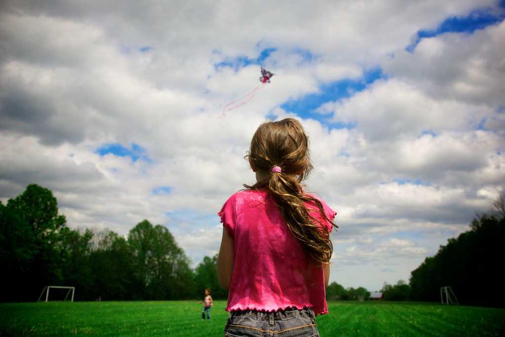enfants cerf-volants