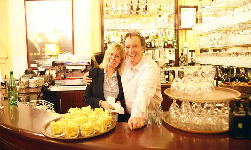 Daniel Russo au Restaurant du Théâtre Edouard VII