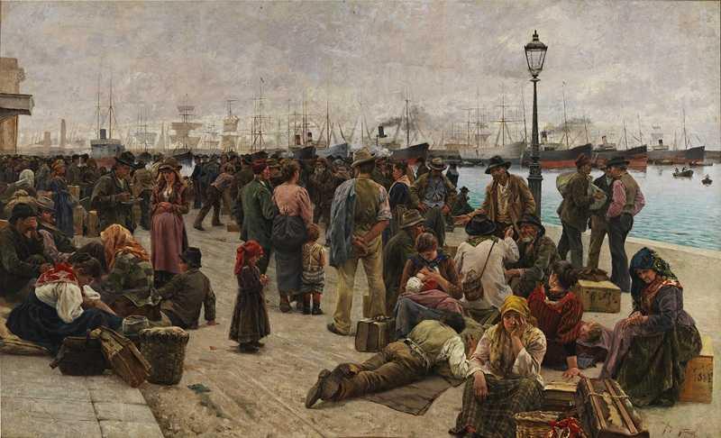 Gli emigranti, 1896