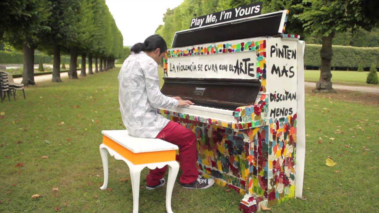 Play me i 39 m yours au jardin d 39 acclimatation que faire for Au jardin d acclimatation