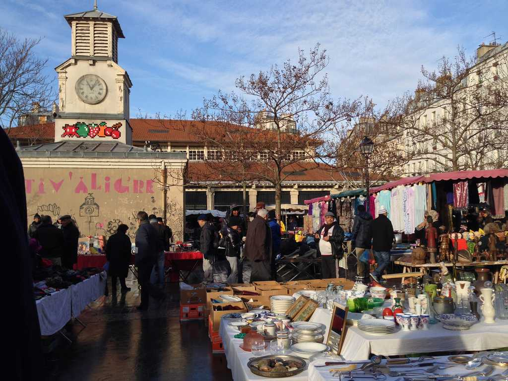 Flea Market at Marche d'Aligre, Paris - heatheronhertravels.com