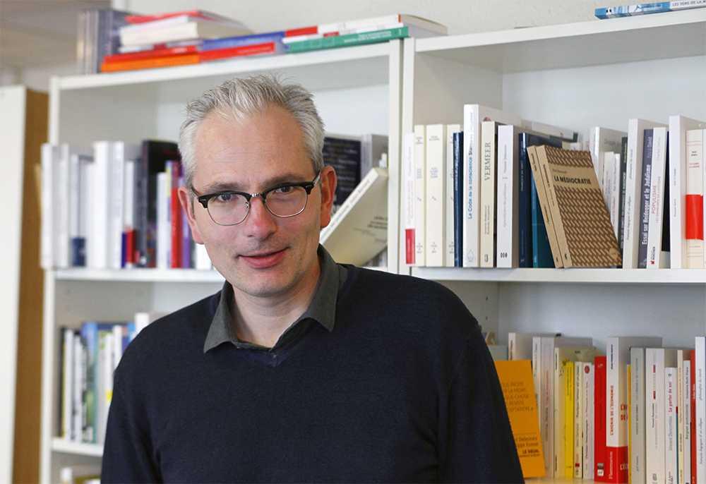 Martin Legros, rédacteur en chef de Philosophie magazine