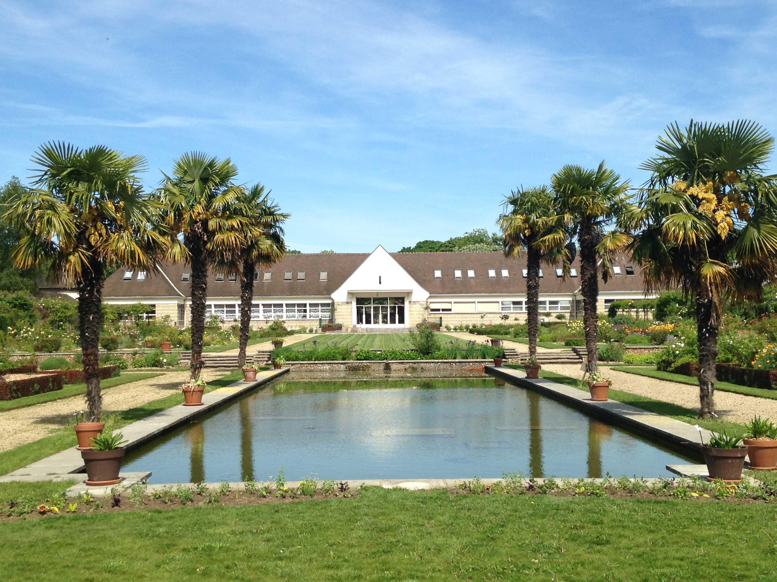 vue du jardin du Breuil