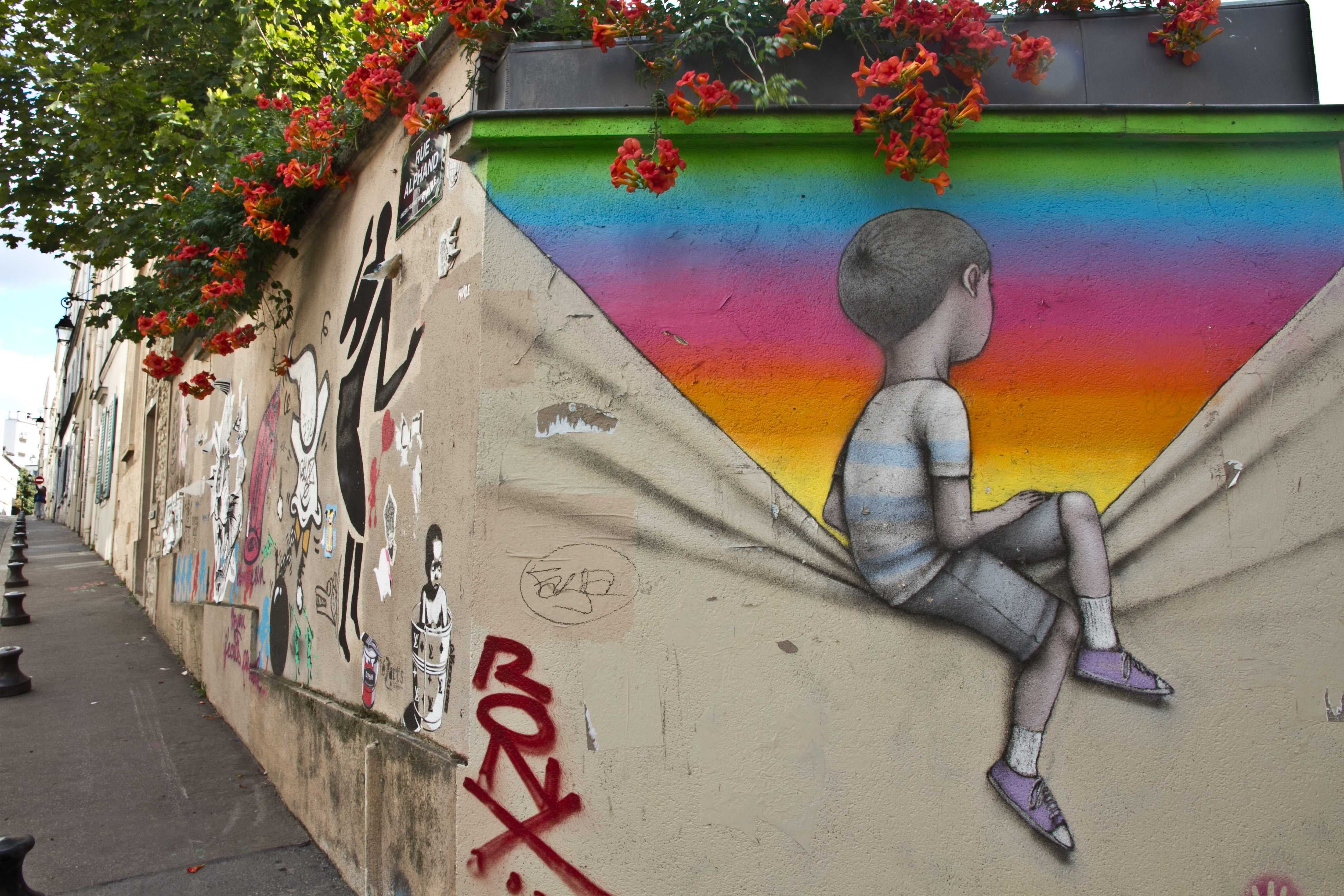 Street Art à Belleville