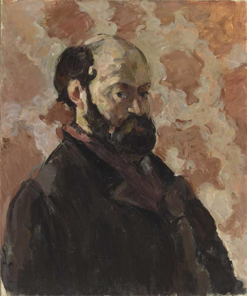 Portrait de l'artiste au fond rose, vers 1875