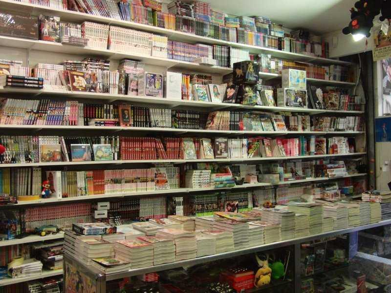 Librairie de Manga
