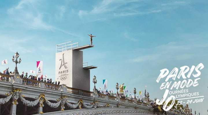 Paris en mode journées Olympiques : Le plongeoir
