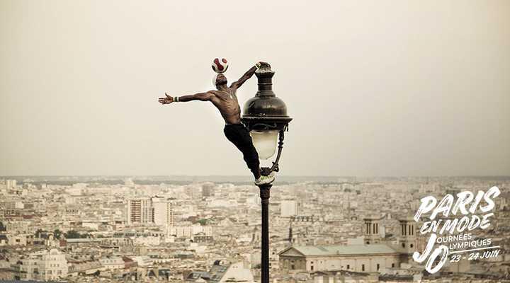 Paris en Mode Journées Olympiques avec Lya Traoré