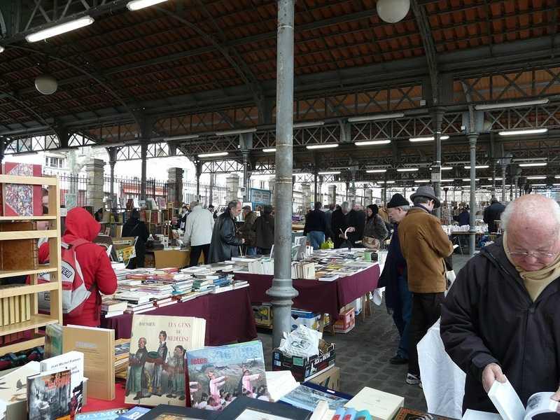 Marché aux livres Parc Georges Brassens
