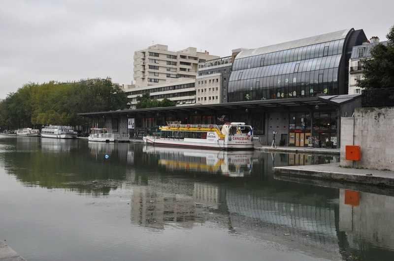 Bassin de la Villette, MK2 Quai de Loire