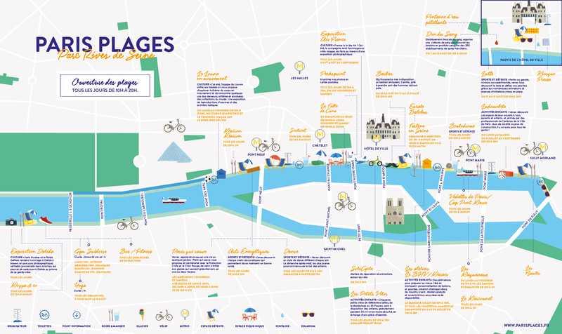 Plan Rive de Seine