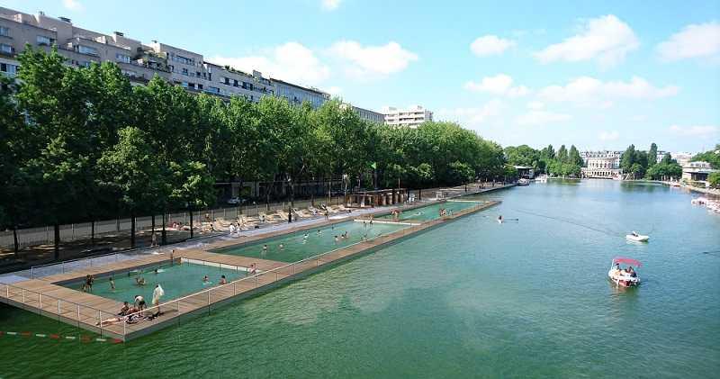 Les Bassins de baignades