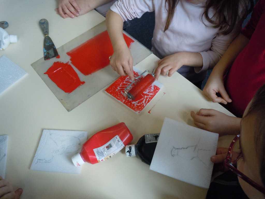 Atelier de gravure parents/enfants avec Julia Chausson |