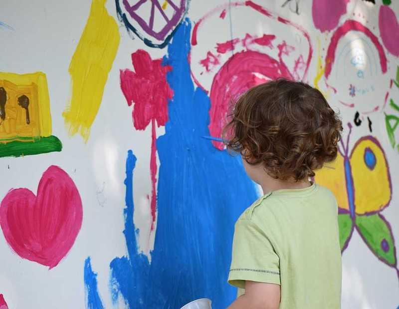 Dessin peinture enfants