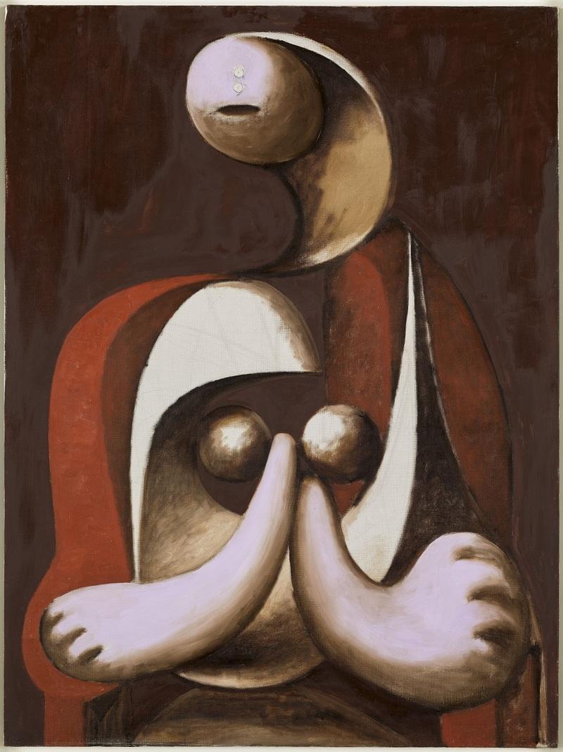 Femme au fauteuil rouge (MP139) Pablo Picasso 1932 Boisgeloup