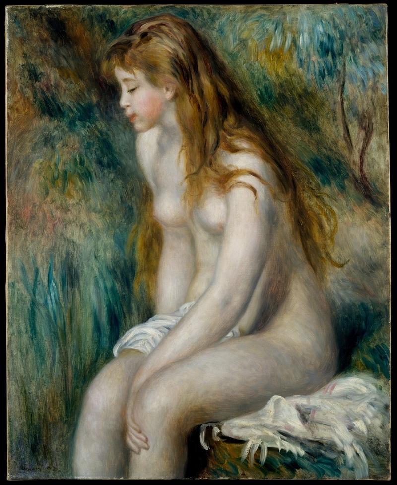Jeune fille au bain 1892
