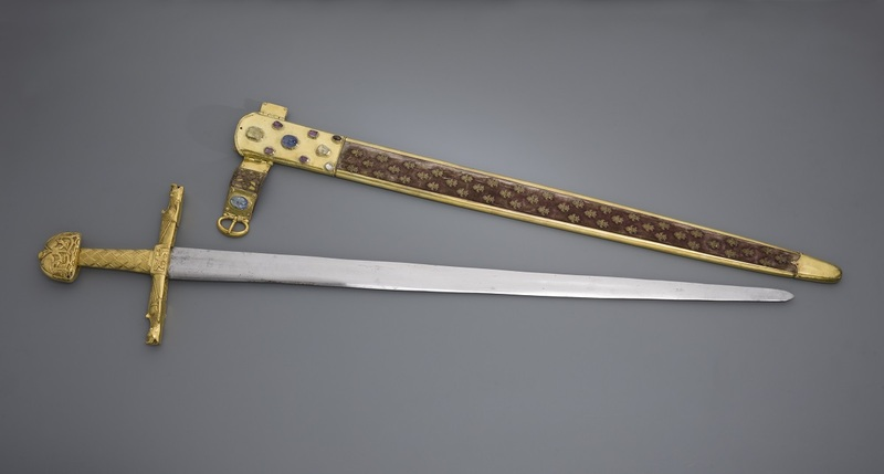 Epée du sacre dite de « Charlemagne » ou « Joyeuse »